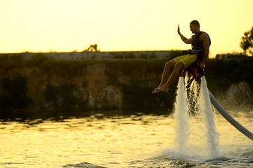Flyboard sunset chair